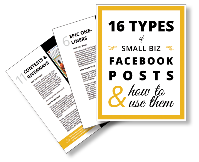 Types-of-Small-Business-Facebook-Posts