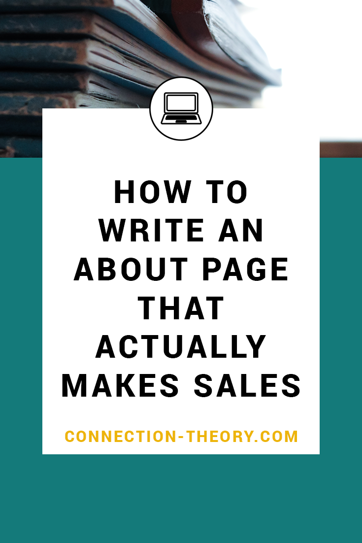 How to Write an About Page that Actually Makes Sales