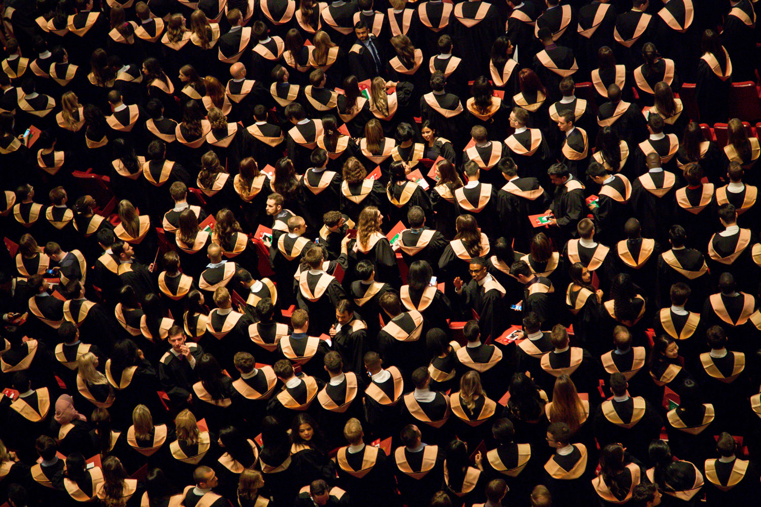 graduating students who needed to get internships