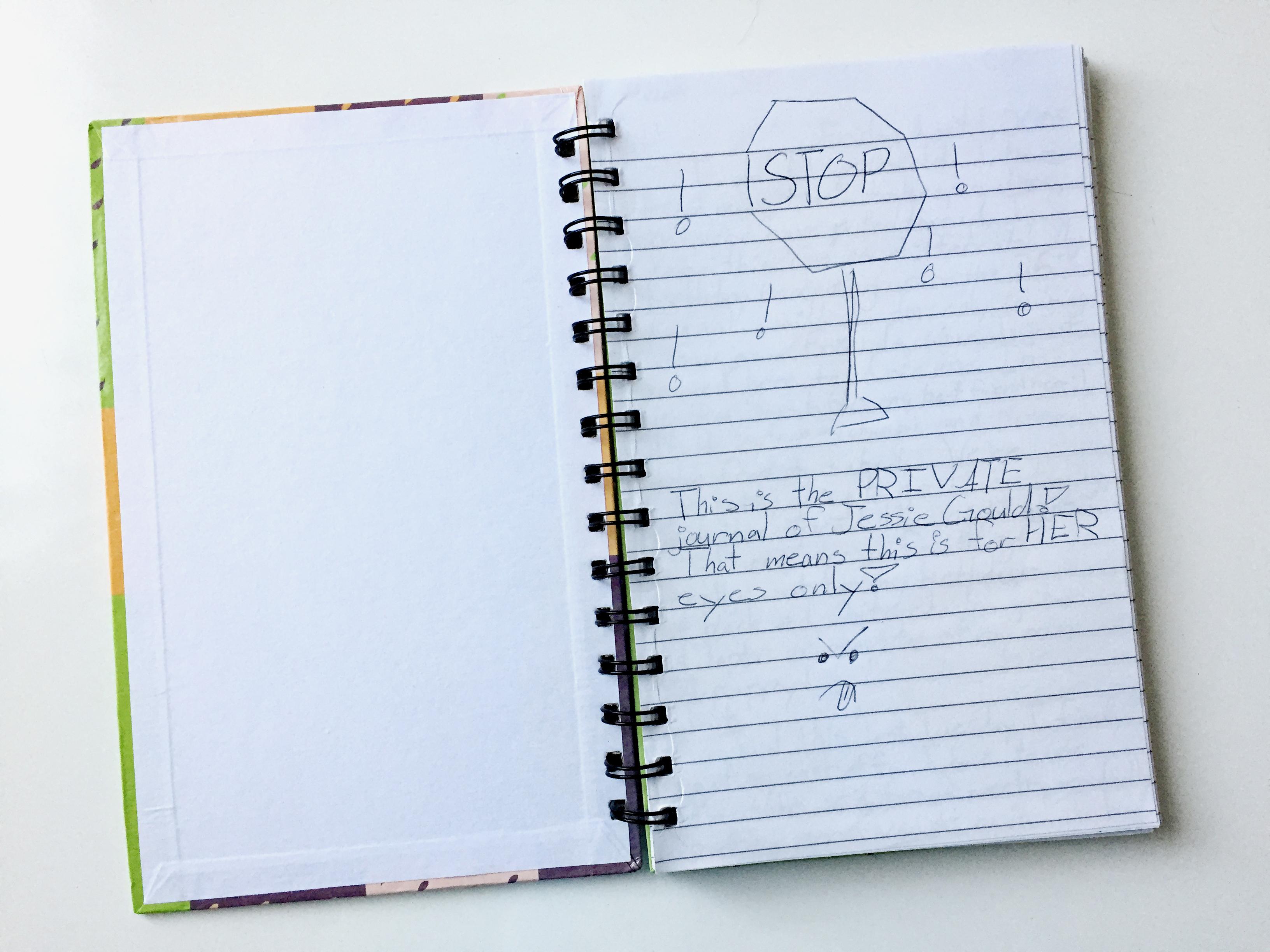 Jessie Lewis's journal