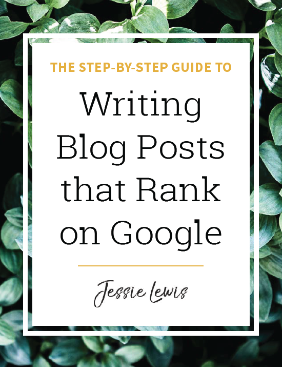 Writing Blog Posts that Rank on Google