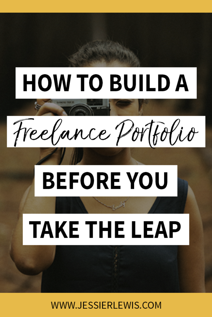 How to Build a Freelance Portfolio | Jessie Lewis
