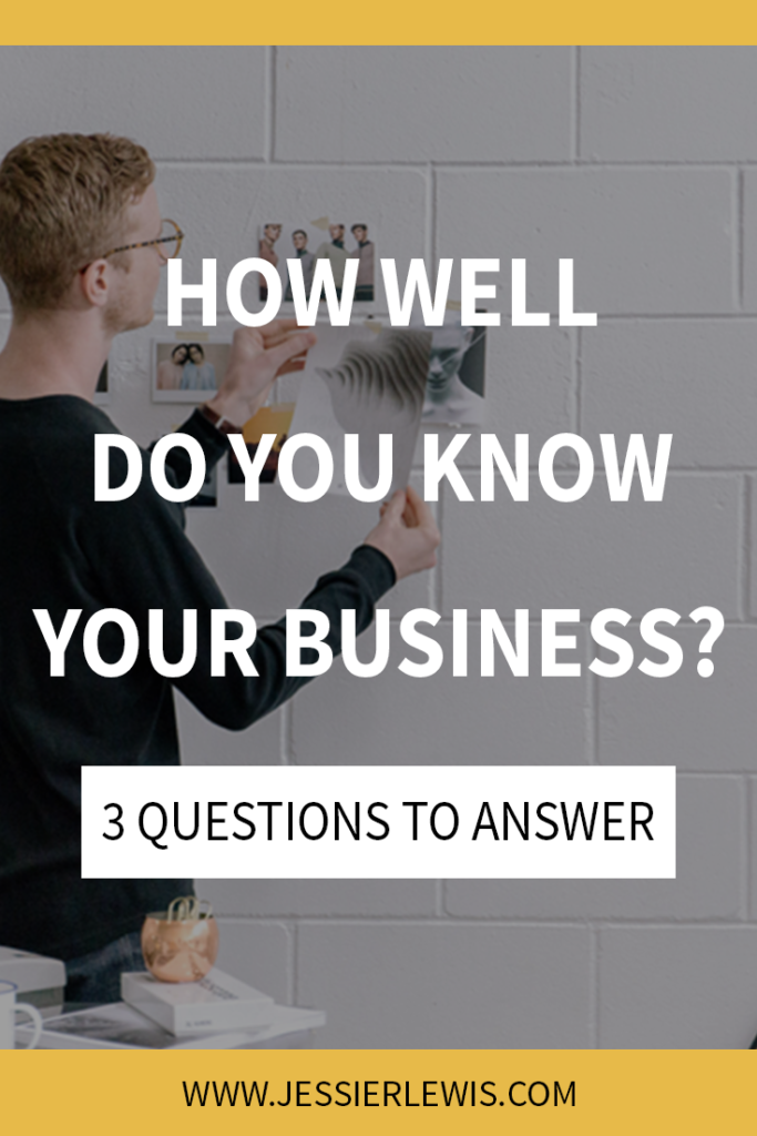 How Well Do You Know Your Own Business? | Jessie Lewis